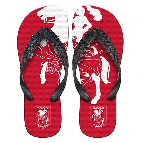 St George Illawarra Dragons Thongs
