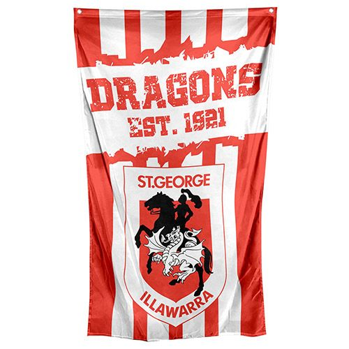 St George Illawarra Dragons Cape / Wall Flag