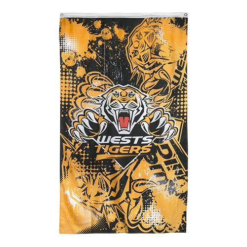 Wests Tigers Cape / Wall Flag