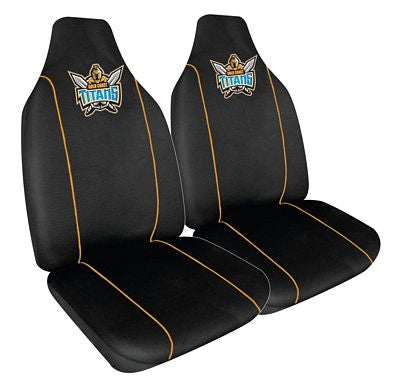 Gold Coast Titans Car Seat Covers