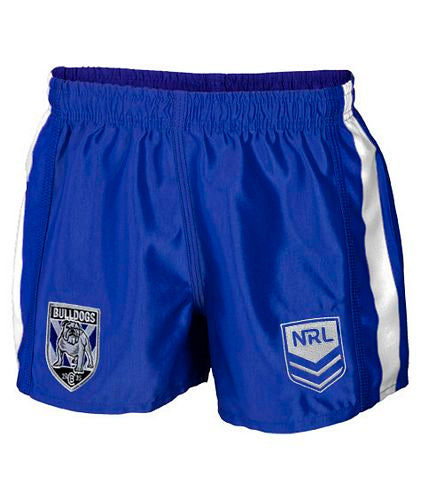 Canterbury Bulldogs Mens Home Replica Player Shorts