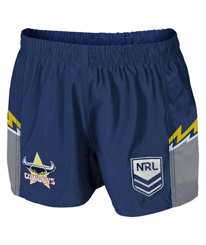 North Queensland Cowboys Mens Replica Player Shorts