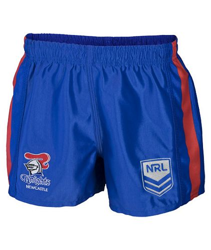 Newcastle Knights Mens Replica Player Shorts