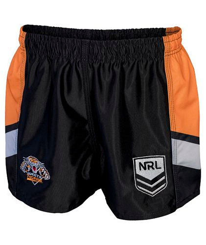 Wests Tigers Mens Replica Player Shorts