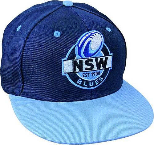 NSW Blues Supporter Flat Cap - Insignia