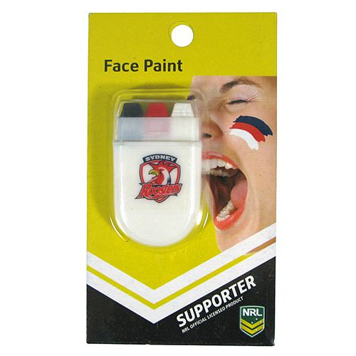 Sydney Roosters Face Paint Stick