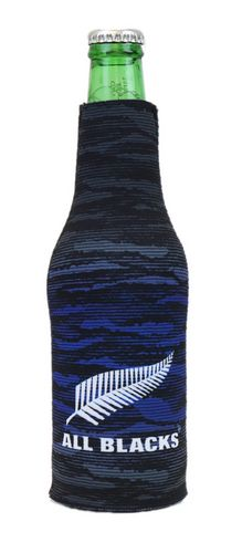 All Blacks Zip Up Stubby Cooler