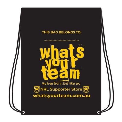 Whats Your Team Drawstring Bag