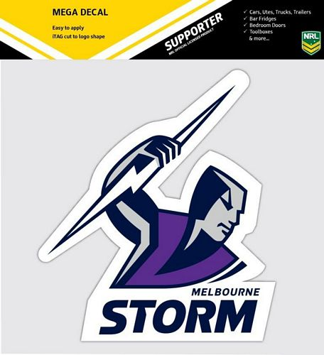 Melbourne Storm Car Logo Sticker