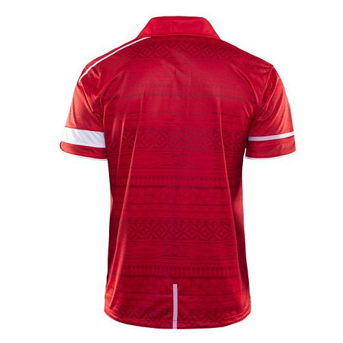 Tonga 2019 Players Polo - Red