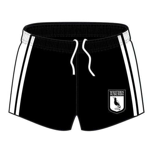 Western Suburbs Magpies Heritage Supporter Player Shorts