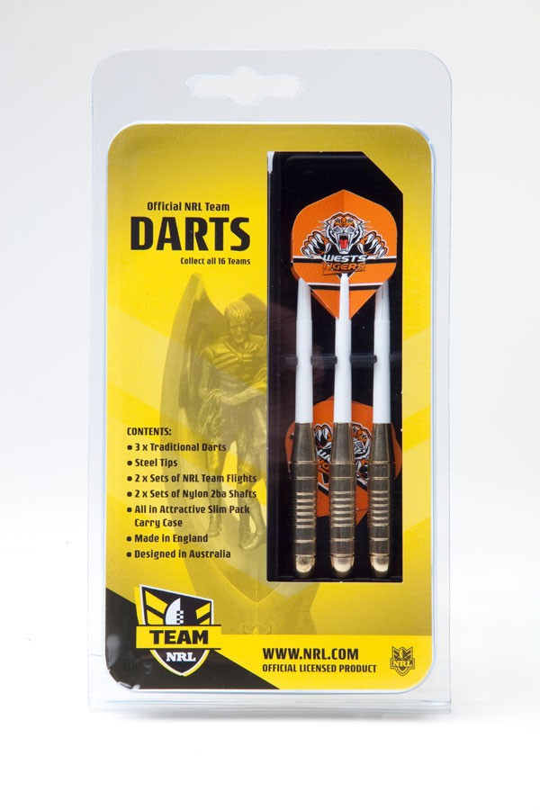 Wests Tigers Darts (3pk)
