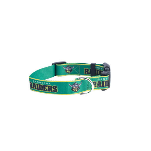 Canberra Raiders Dog Collar