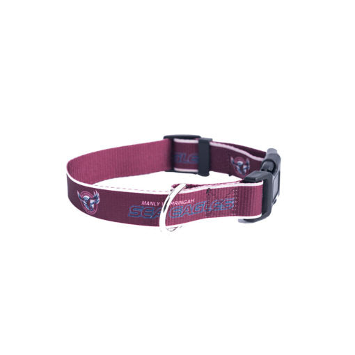 Manly Sea Eagles Dog Collar