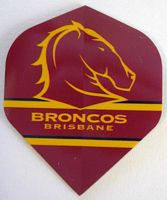 Brisbane Broncos Dart Flights (3pk)