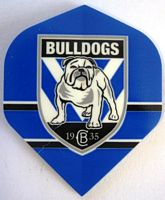 Canterbury Bulldogs Dart Flights (3pk)