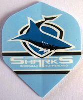 Cronulla Sharks Dart Flights (3pk)