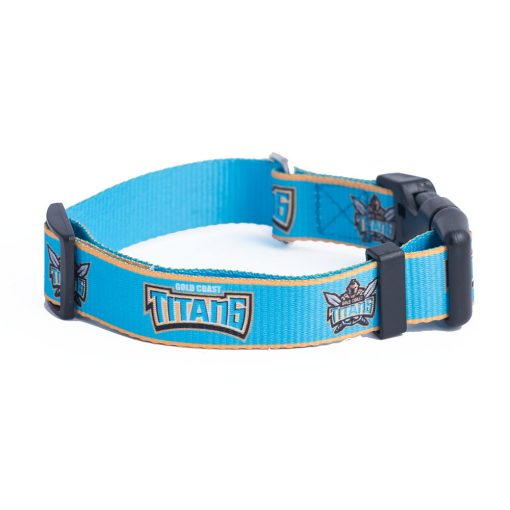 Gold Coast Titans Dog Collar
