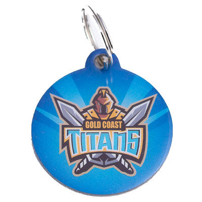 Gold Coast Titans Dog ID Tag