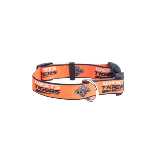 Wests Tigers Dog Collar