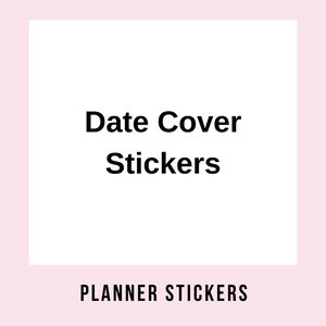Date Cover Stickers