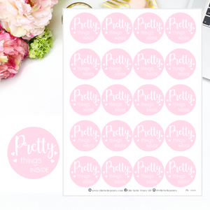Pretty Things Inside Stickers