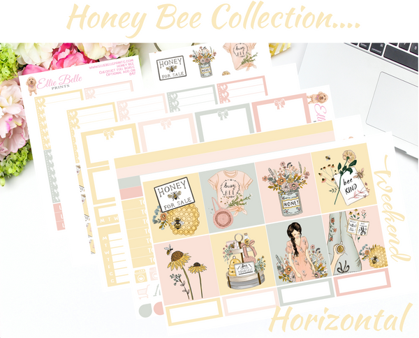 Honey Bee Collection - Horizontal Weekly Kit
