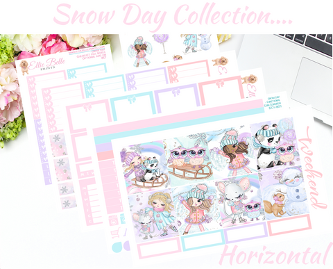 Snow Day Collection - Horizontal Weekly Kit