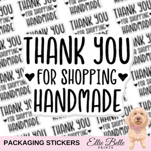 Thank you for shopping handmade