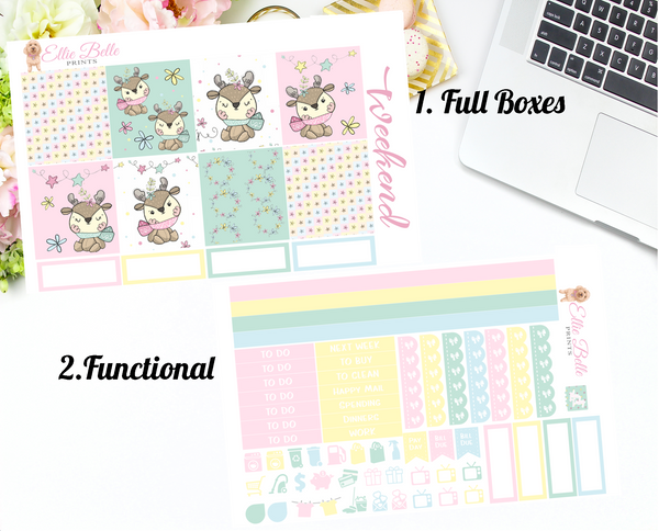 Reindeer Collection - Horizontal Weekly Kit