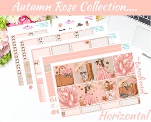 Autumn Rose - Horizontal Weekly Kit