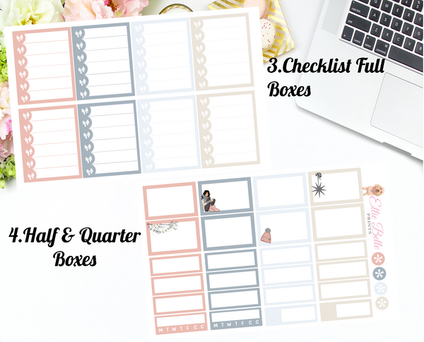 Baby It's Cold - Vertical Weekly Planner Kit