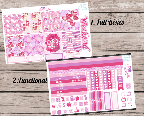 BE MINE COLLECTION - Horizontal Planner Kit [328]