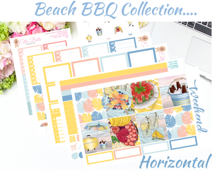 Beach BBQ Collection - Horizontal Weekly Kit