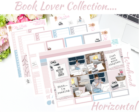 Book Lover - Horizontal Weekly Kit