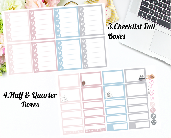 Book Lover - Vertical Weekly Planner Kit