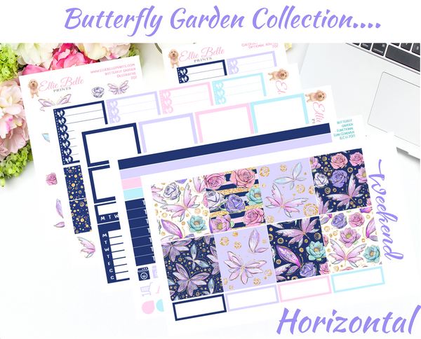 Butterfly Garden - Horizontal Weekly Kit