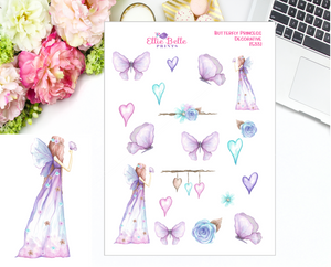 Butterfly Princess Collection Stickers