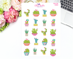 Cactus Decorative Stickers