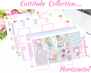 Cattitude - Horizontal Weekly Kit