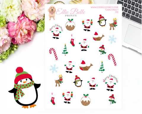 Christmas Stickers 1