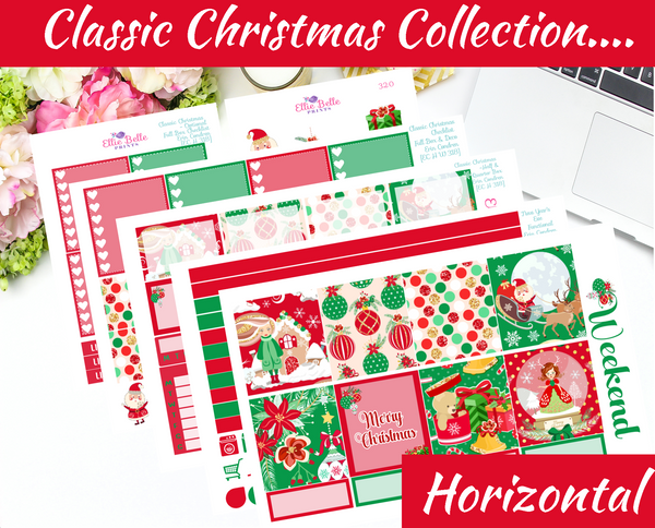Classic Christmas - Horizontal Weekly Kit [318]