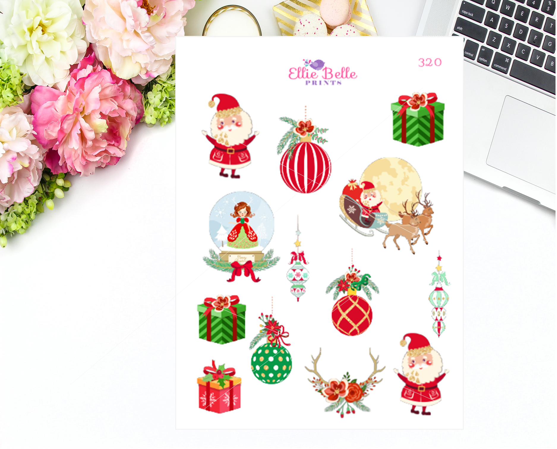 Classic Christmas Stickers [320]
