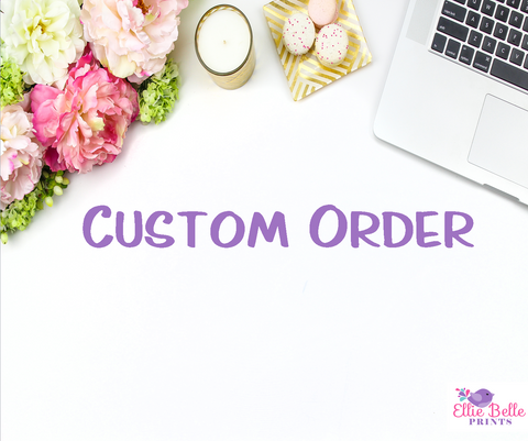 Copy of Custom Order - Additional Shipping Fees