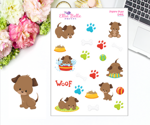 Puppy Play Stickers