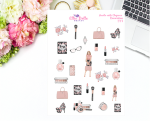 Hustle with Elegance Collection Decorative Stickers