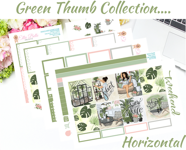 Green Thumb - Horizontal Weekly Kit