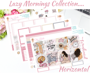 Lazy Mornings - Horizontal Weekly Kit