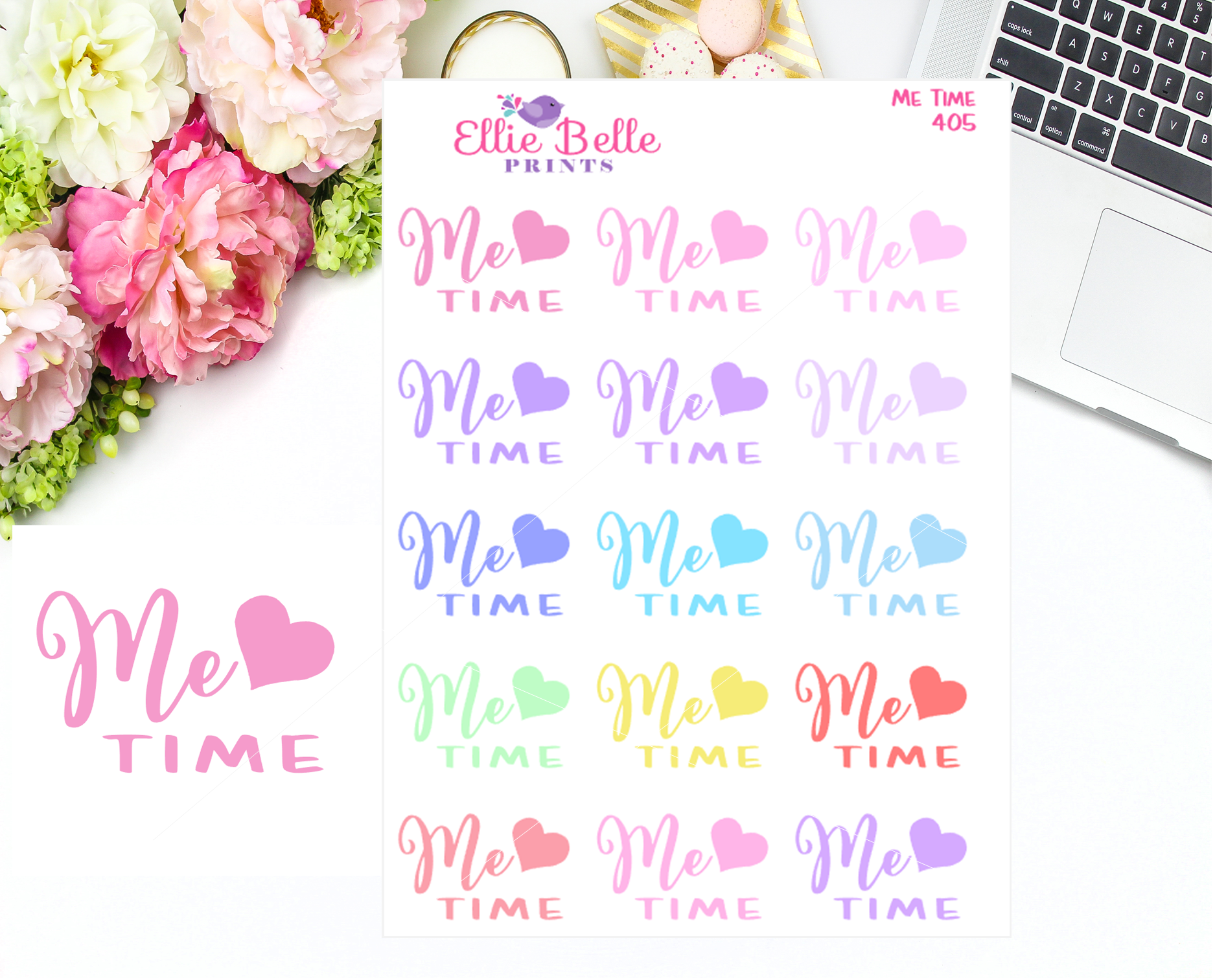 Me Time Stickers