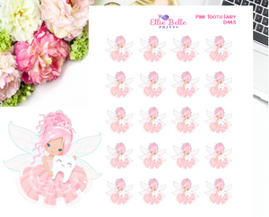 Tooth Fairy Girls Decorative Stickers
